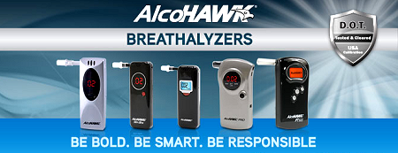 AlcoHAWK Digital Breathalyzers