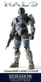 Halo Commander Carter Figurine