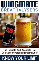 Wingmate Breathalysers And Personal BAC Testers